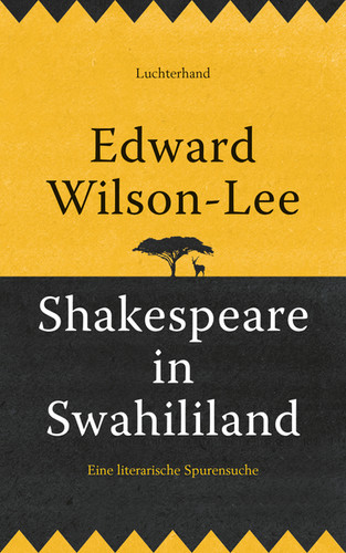 Shakespeare in Swahililand: German Cover
