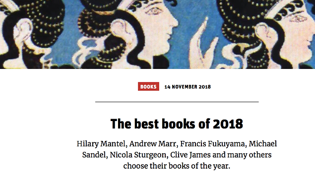 BOOKS of the YEAR: Catalogue of Shipwrecked Books in The New Statesman, The Spectator and History Today