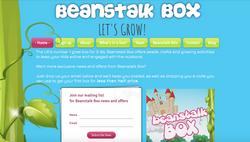 Beanstalk Box Homepage Cherry Sites