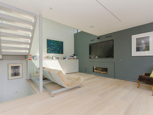 TV room Muswell Hill by Plan C
