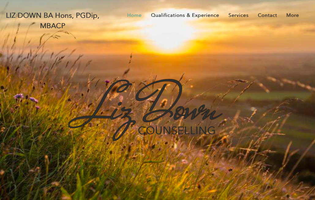 Liz Down website Cherry Sites