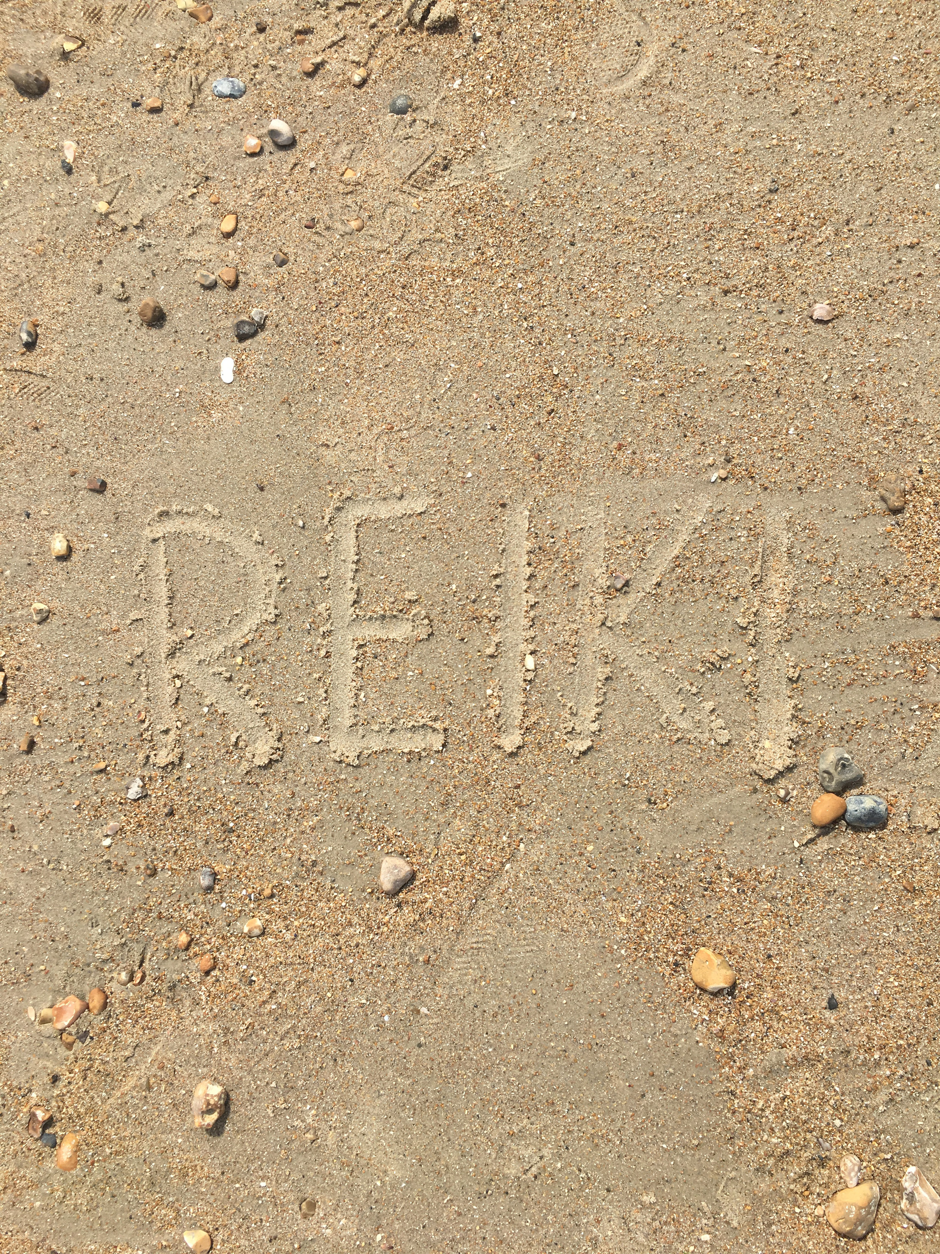 Reiki in the Sand