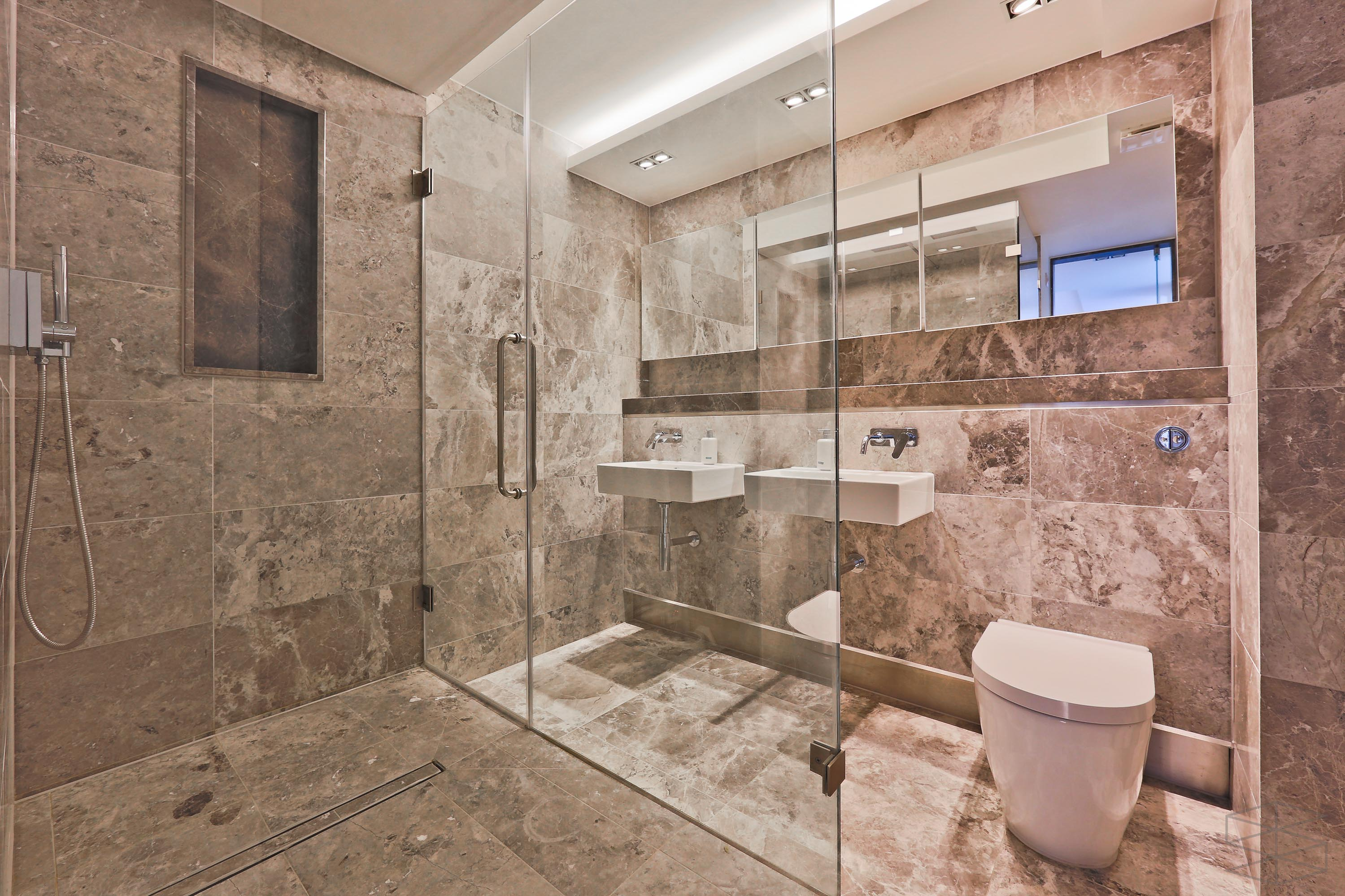 bespoke bathroom Plan C Builders