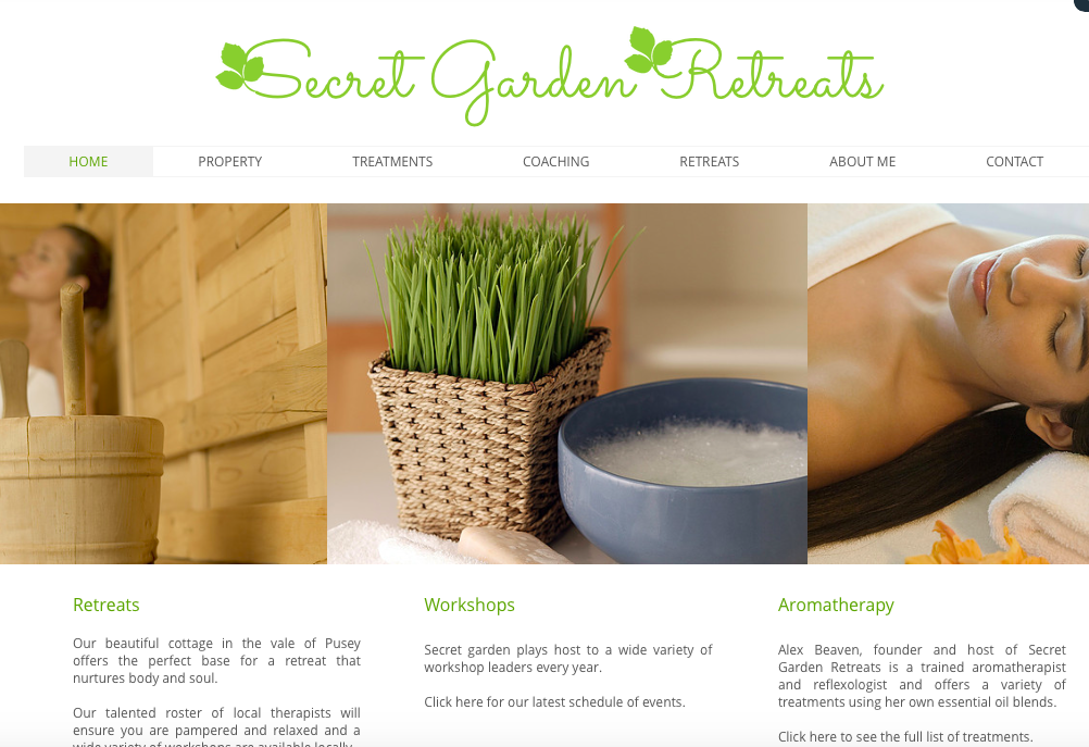 Secret Garden Retreats