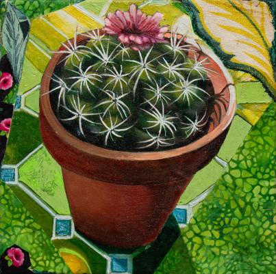 Carol Beesley cactus painting