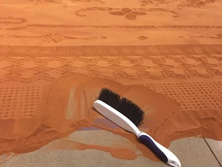 Sweeping: An Ekphrasis
