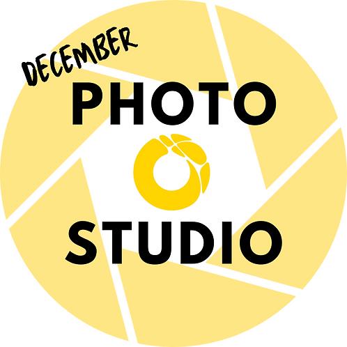 1 Photo Studio Session - December 11, 2020