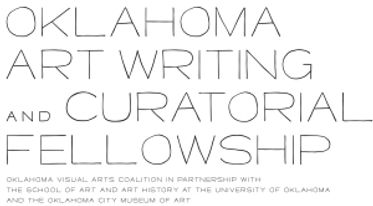 OK Art Writing and Curatorial Fellowship Logo