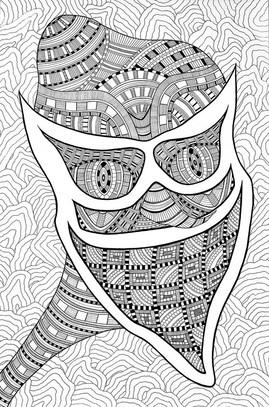 """Curators' Choice: Taylor Graham, """"Mask"""""""