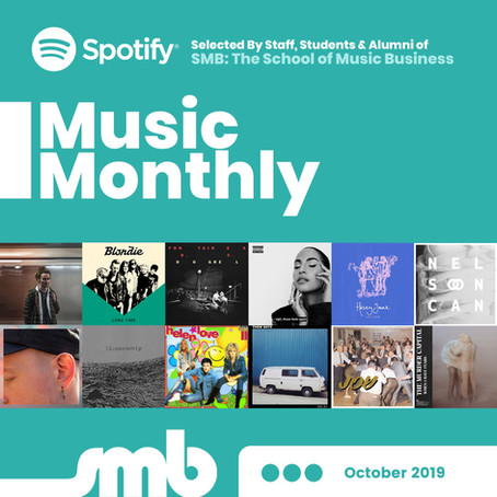 SMB Music Monthly | October 2019