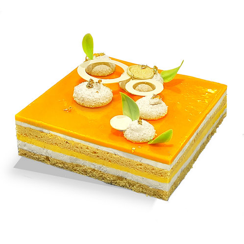Large Cake: Tropical Slice (GF) - Pick Up Only