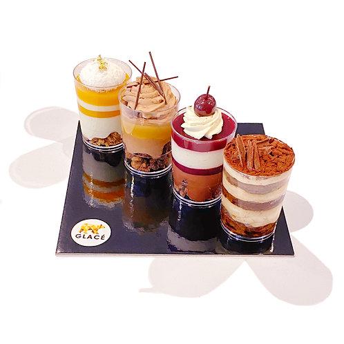 Dessert Mini Cups Tray