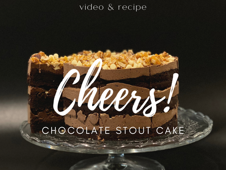 Chocolate Stout Cake VIDEO and RECIPE