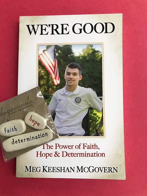 Inspirational Book and Blessing Stones