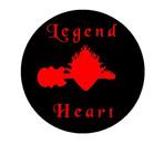 Legend Heart Drum Head Art