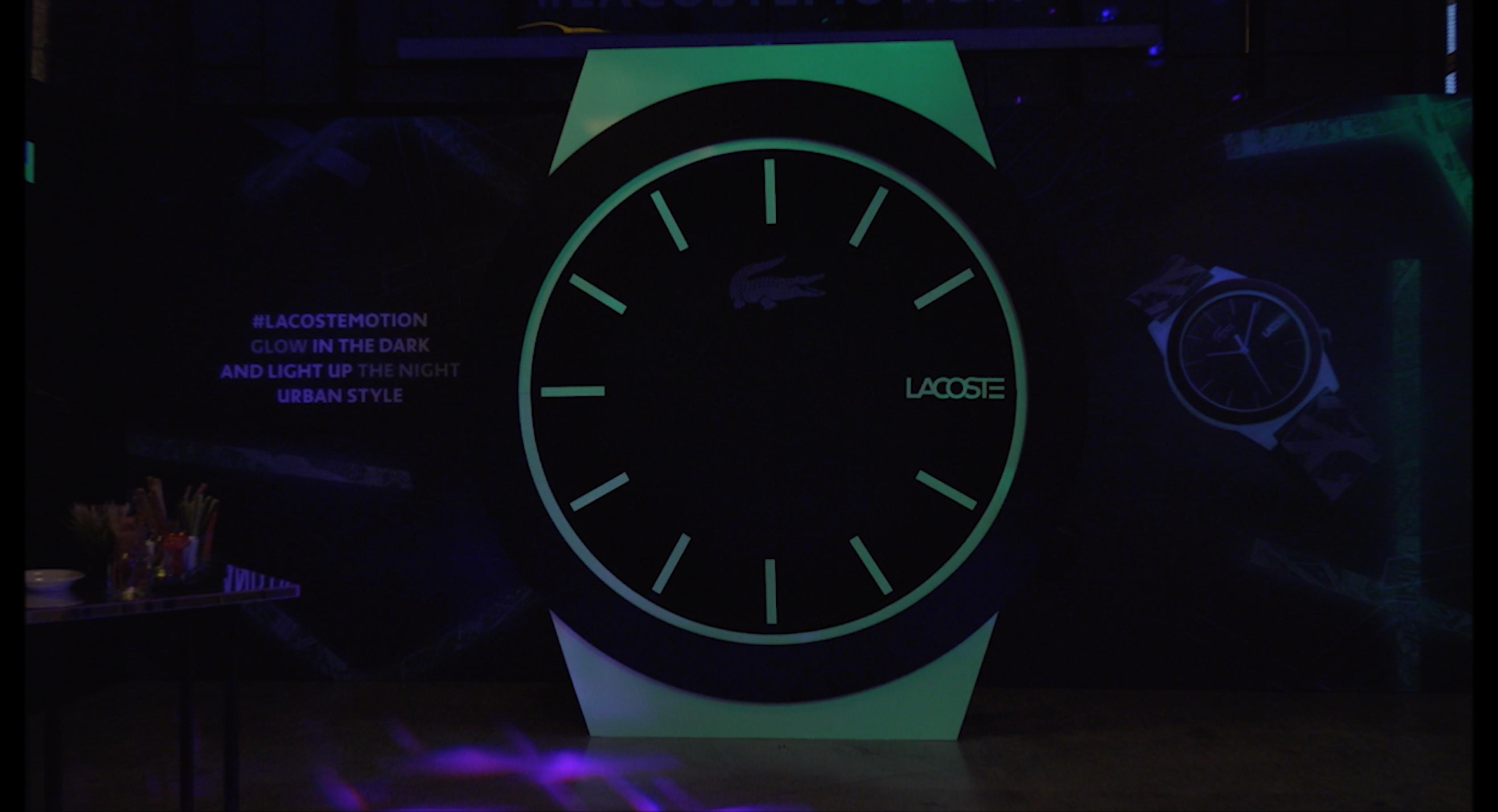 Lacoste Launch