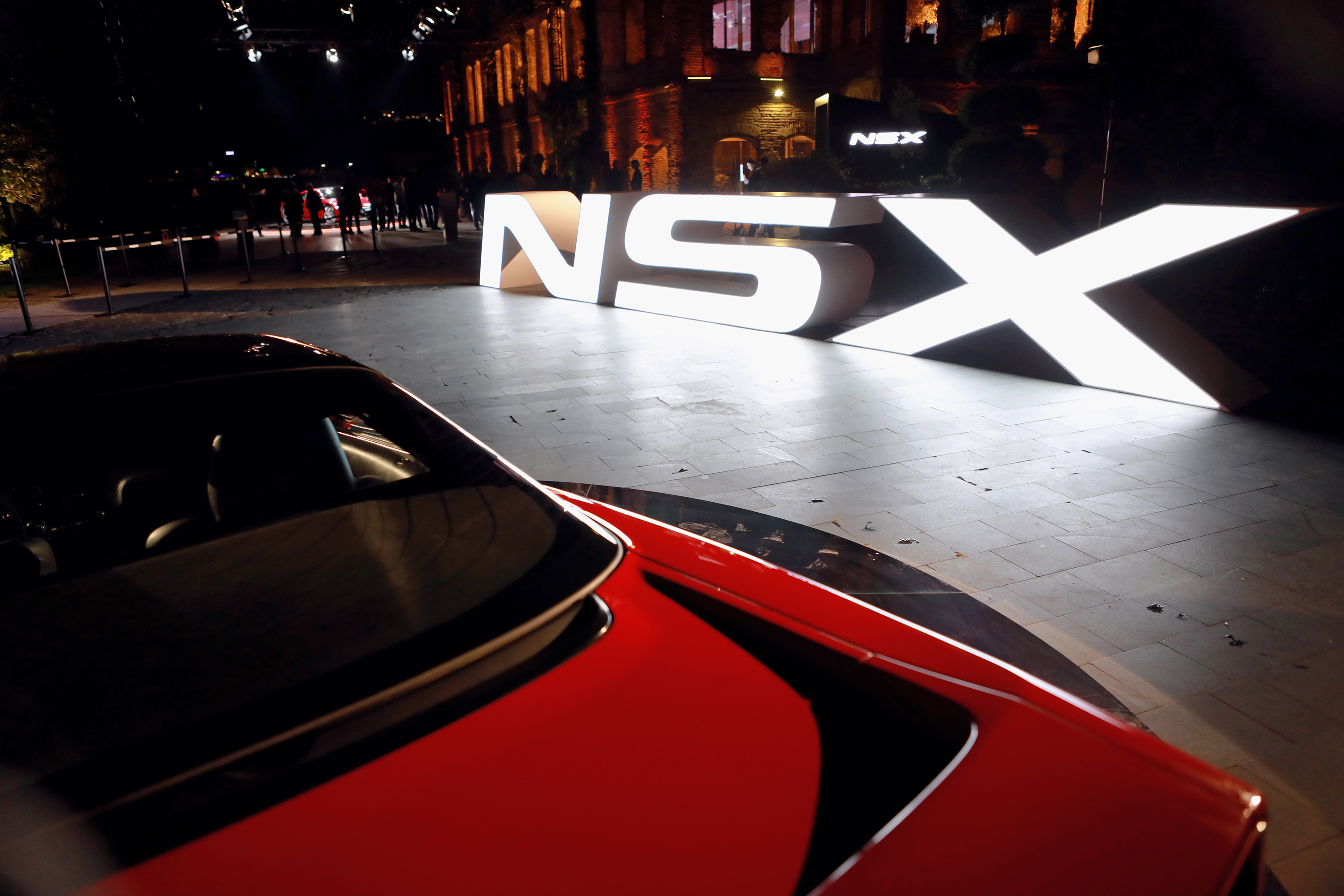 Honda NSX Launch