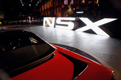 Honda NSX Launch