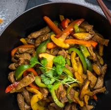 Chantal Organics: Fragrant Stir Fry Lamb With Coconut Rice