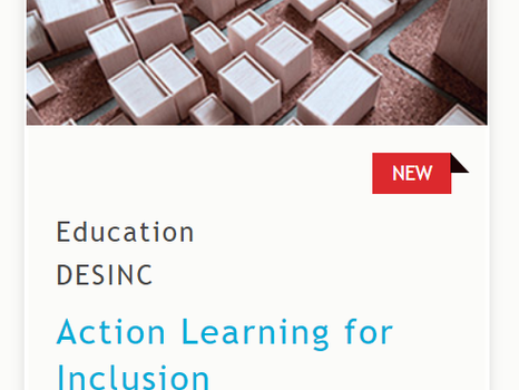 The MOOC - Action Learning for Inclusion - is now online