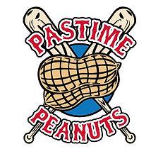 Pastime Peanuts 128  Double Baseball Bat and Peanuts offical logo Snow Street Oxford Alabama