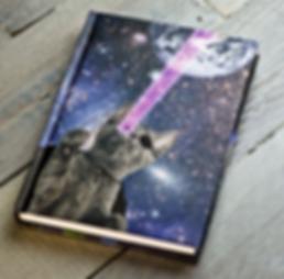 Die Lasercats sind da! Notizbücher, Tagebücher, Skizzenbücher in Besonders!