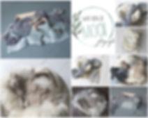 collage kleurkaart naturel - grijs - lic