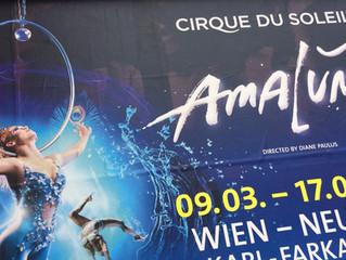 Wir waren gestern im Cirque du Soleil und es war phantastisch!