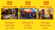 """Im """"Sale für Alle"""" ist immer was los!"""