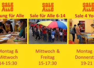 """Das """"Sale für Alle"""" sucht neue Teamer*innen"""