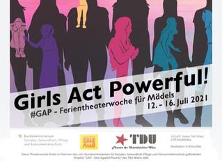 Girls Act Powerful! in wunderbarem Forumtheaterstück umgesetzt