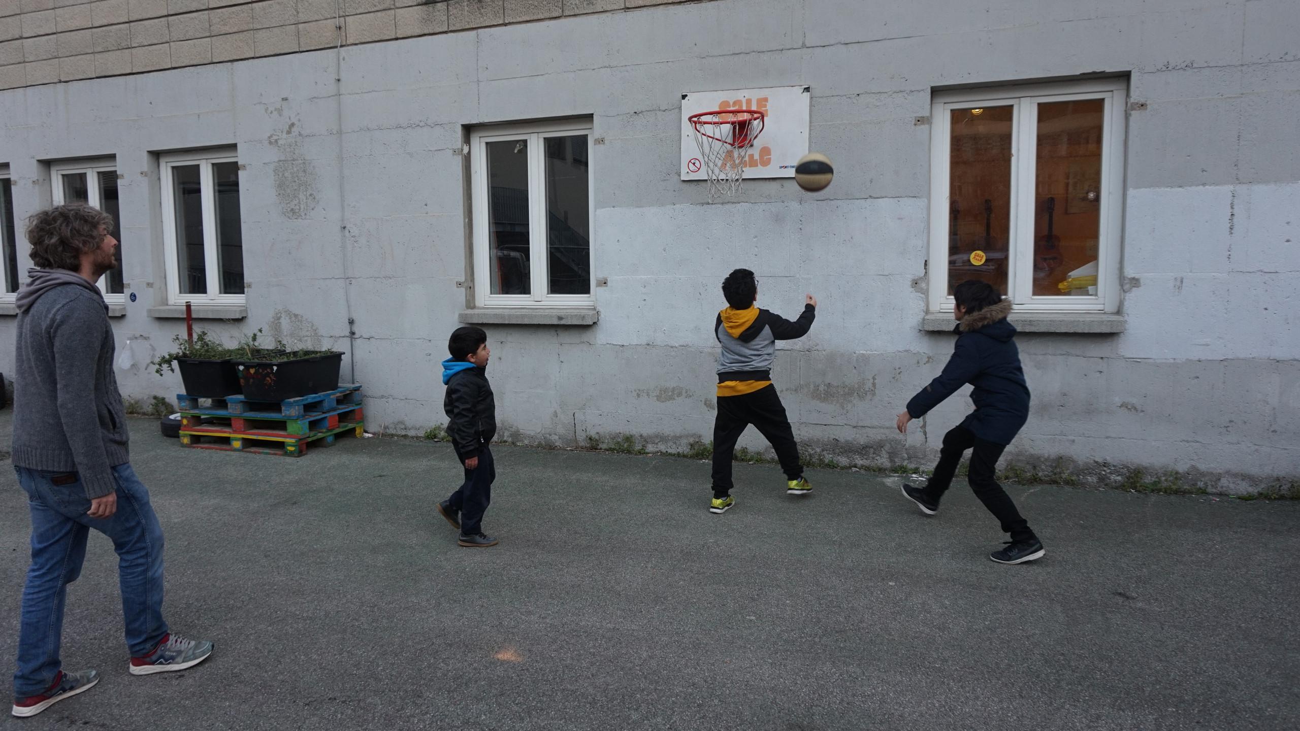 Sport & Spiele im Hof
