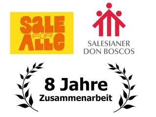 8 Jahre Zusammenarbeit mit den Salesianern Don Boscos