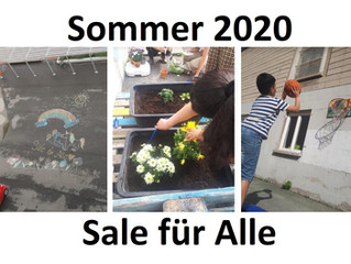 Sommer(pause) im Sale