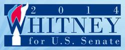 Whitney for US Senate Sign