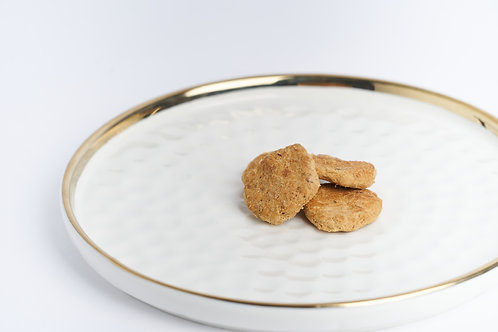 Freeze Dried Chicken and Ginseng Cookie