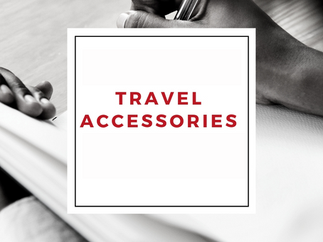 5 Travel Accessories You Need in Your Carryon Bag