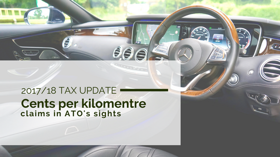 2017/18 Tax Update: Cents per kilometre claims in ATO's sights