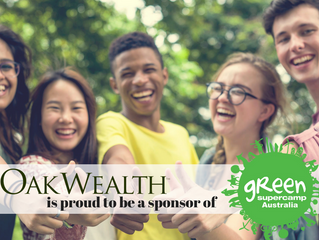 OakWealth is proud to be a sponsor of Green SuperCamp Australia!