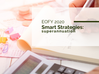 Smart super strategies for this EOFY