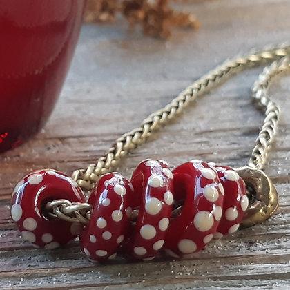 romeo - multi bead necklace