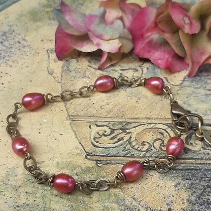 poet's cove - freshwater pearl bracelet