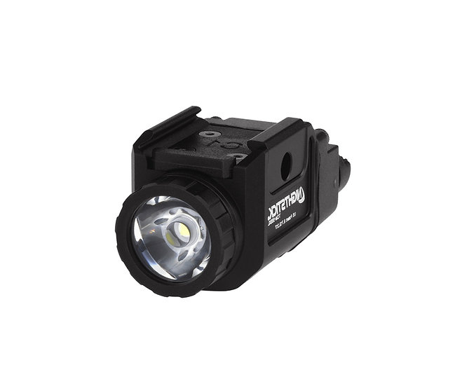 COMPACT TACTICAL WEAPON-MOUNTED LIGHT WITH STROBE