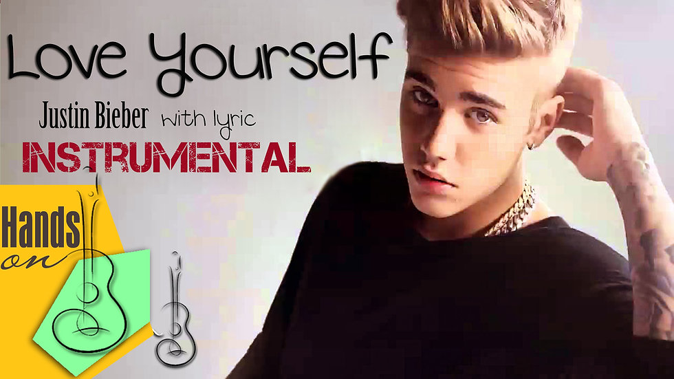 Love yourself » Justin Bieber ✎ acoustic Instrumental by Trịnh Gia Hưng