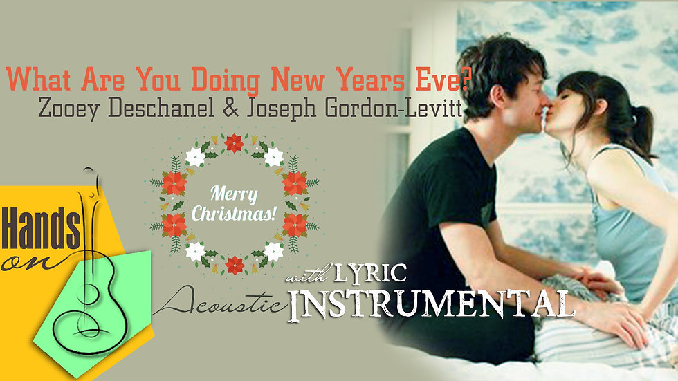 What Are You Doing New Years Eve ✎ acoustic Instrumental by Trịnh Gia Hưng