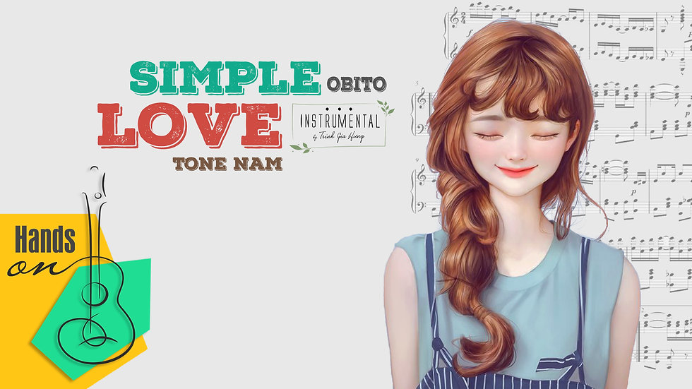 Simple love  » Obito ✎ Beat Instrumental tone nam by Trịnh Gia Hưng | EDM Remix