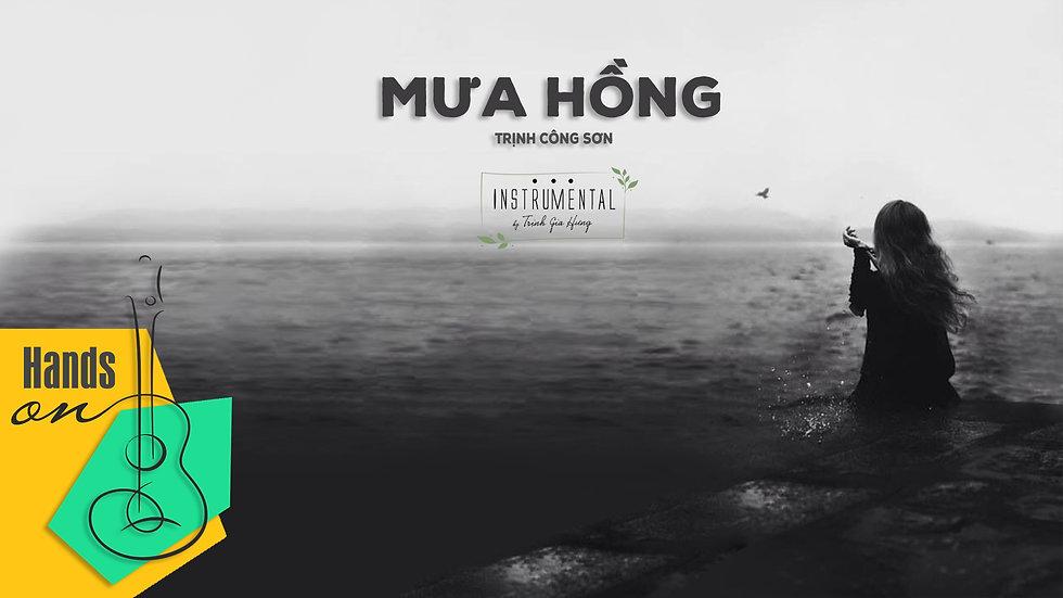 Mưa hồng  » Trịnh Công Sơn ✎ acoustic Beat Instrumental by Trịnh Gia Hưng