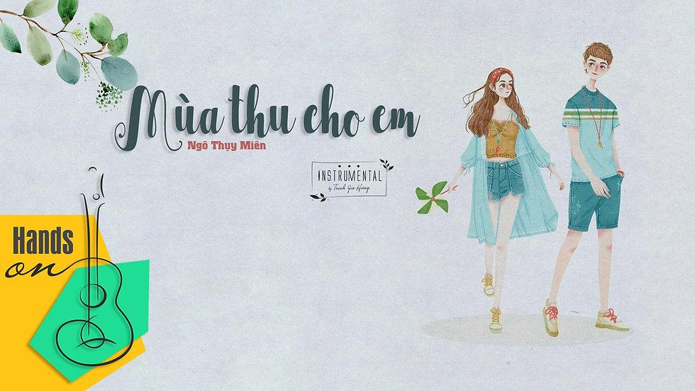 Mùa thu cho em - Ngô Thụy Miên - Beat Instrumental tone nam by Trịnh Gia Hưng