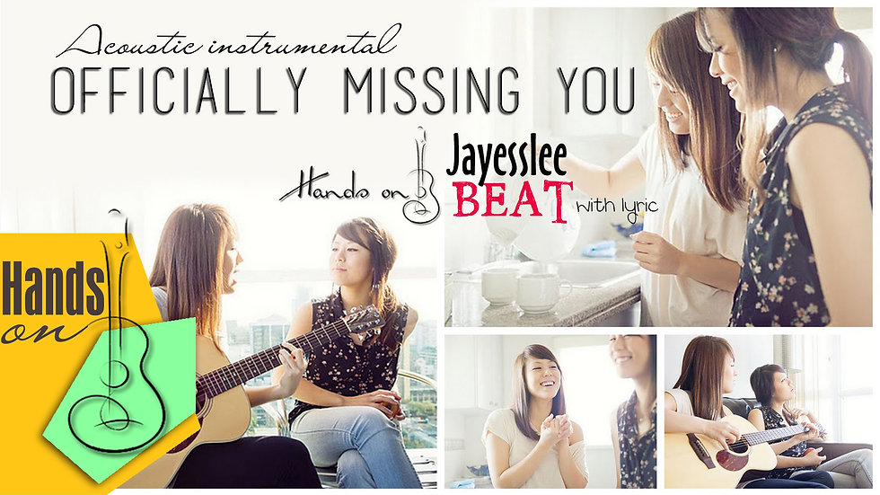 Officially missing you » Tamia » Jayesslee Cover ✎ acoustic Instrumental by Trịn