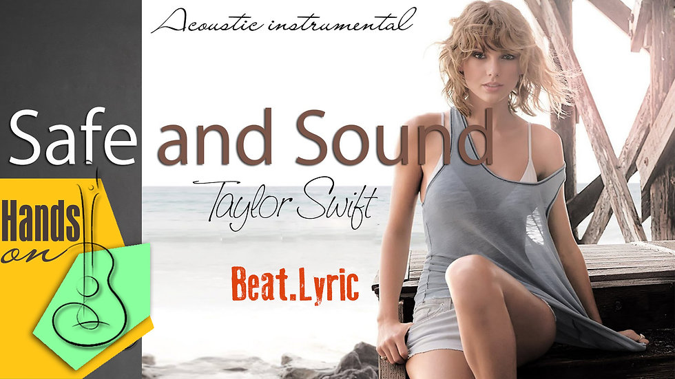 Safe and Sound » Taylor Swift ✎ acoustic Instrumental by Trịnh Gia Hưng